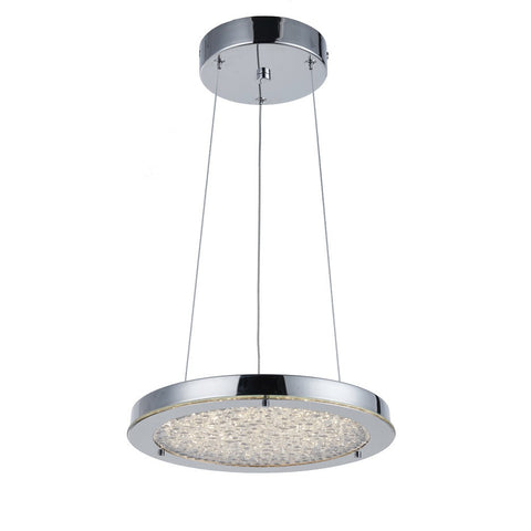 Artcraft AC7312 CH - 1 Light LED Chandelier - 1300953 N