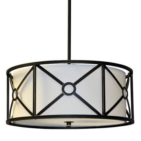 Dainolite CRU-204LP-VOB - 4 Light Pendant - 1159955 N