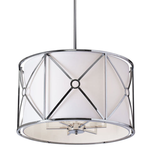 Dainolite CRU-216C-PC - 6 Light Pendant - 1300861 N