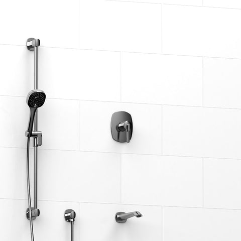 Riobel KIT1223VYC Chrome - 2 Way Coaxial Thermostatic/Pressure Balance Tub/Shower System - 1199539 N