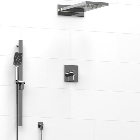 Riobel KIT2745PFTQC Chrome - 3 Way Thermostatic/Pressure Balance Coaxial Shower System - 1199075 N