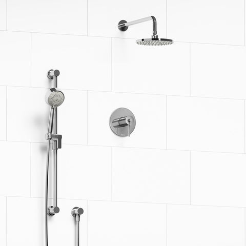Riobel KIT323CSTMC-SPEX Chrome - 2 Way Thermostatic/Pressure Balance Coaxial Shower System W/Pex - 1550885 N