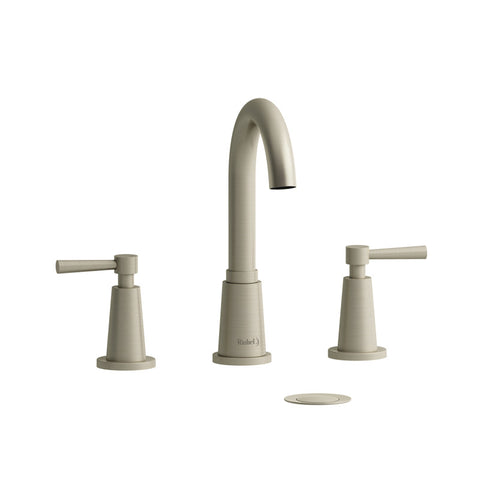 Riobel PA08LBN Brushed Nickel - Two Handle Widespread Lav Faucet - 1166061 N