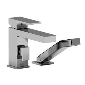 Riobel Pro US02C Chrome - 2 Piece Roman Tub Filler