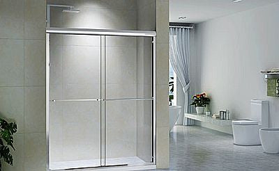CH6122A Sliding Shower Doors - 60in