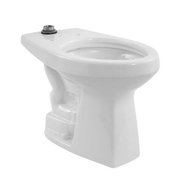 Toto CT705ELN 01  White - Flushometer High Efficiency Toilet