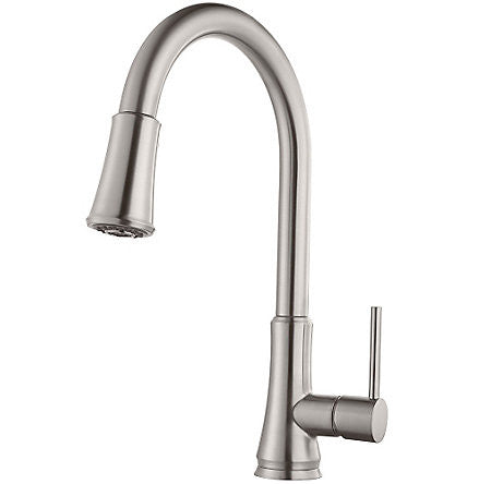 Pfister G529-PFSS Stainless Steel - Single Handle Pull Down Faucet
