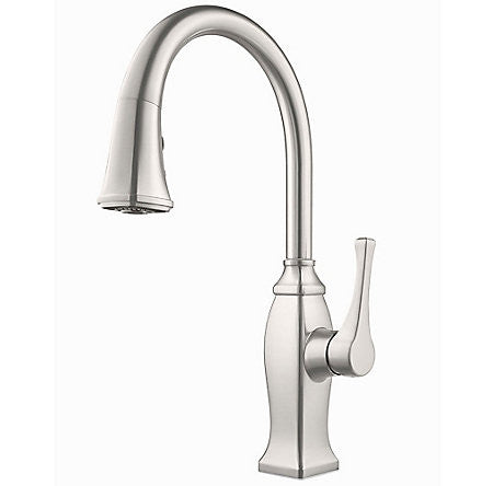 Pfister Gt529 Bfs Stainless Steel Single Handle Pull Down Kitchen