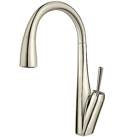 Pfister GT529-MPD Polished Nickel - Single Handle Pull Down Kitchen Faucet - 1199351 N