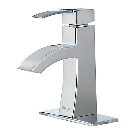 Pfister LF042-BNCC Polished Chrome - Single Handle Lav Faucet