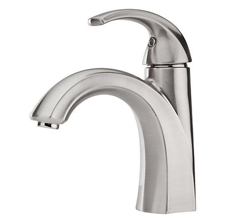 Pfister LF-O42-SLKK Brushed Nickel - Single Handle Lav Faucet