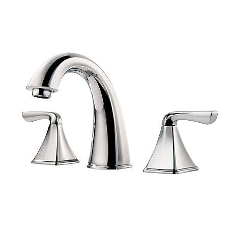 Pfister LFO49-SLCC Polished Chrome - Two Handle Widespread Lav Faucet