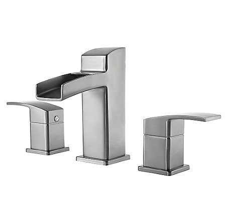 Pfister LG49-DFOK Brushed Nickel - Two Handle Widespread Lav Faucet - 1174065 N