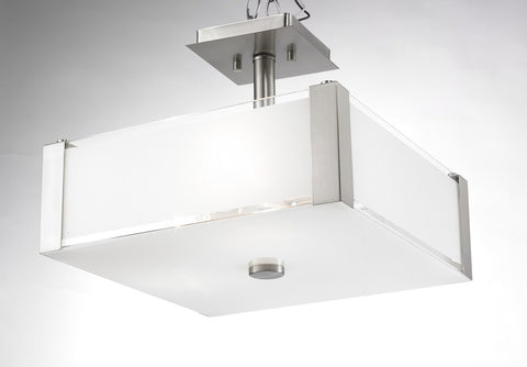 Levico LVB3714S CH - 3 Light Chrome Semi Flush - 1301127 N