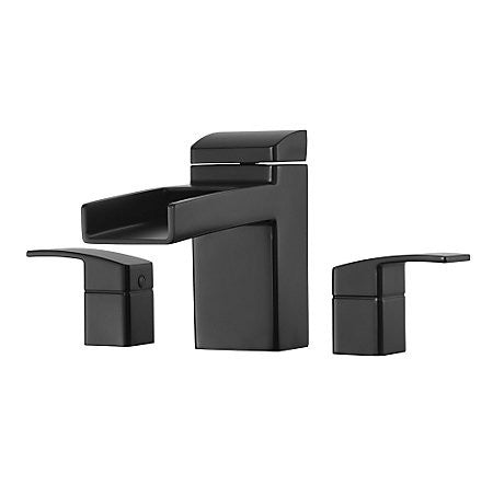 Pfister RT6-5DFB Matte Black - Roman Tub Filler - 1205136 N