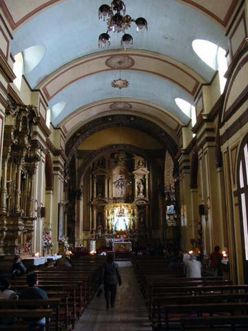 View of the Sanctuary from the entrance