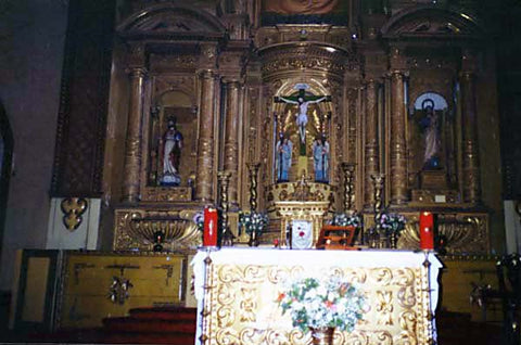 Sanctuary of Conception Church --- November 2000