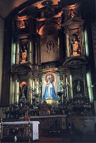 Sanctuary of Conception Church October 2002