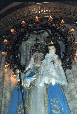 Our Lady of Good Success --- in the Sanctuary of Conception Church --- October 2002