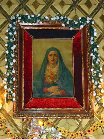 Painting of our Sorrowful Mother