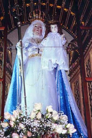 Our Lady of Good Success --- in the Sanctuary of the Choir loft --- November 2000