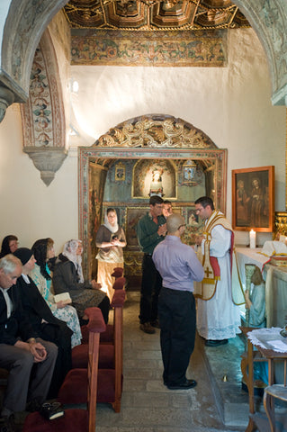 Mass at Tomb