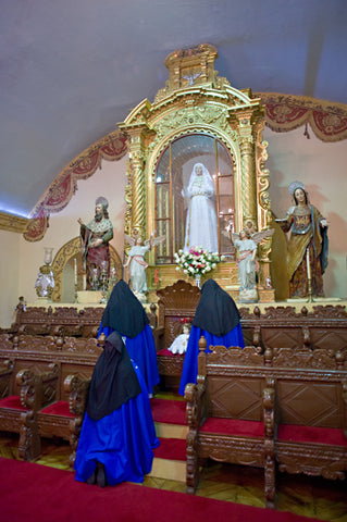 Nuns in Upper Choir Loft