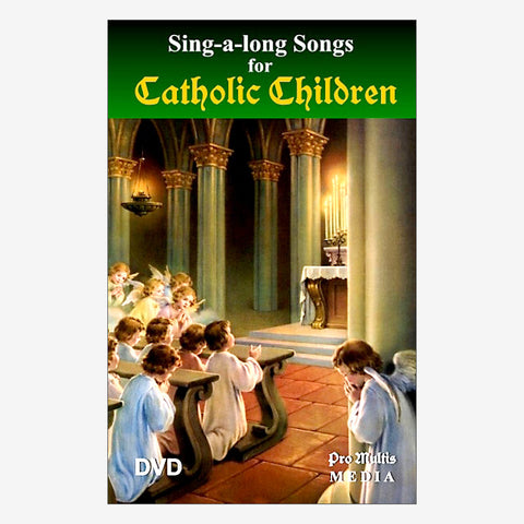 Sing-a-long-Songs for Catholic Children (DVD)