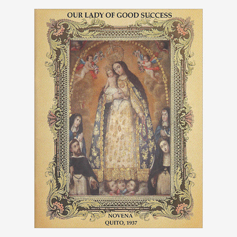 1937 Ed. Novena Booklet to Our Lady of Good Success