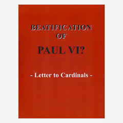Letter to Cardinals Beatification of Paul VI?