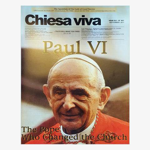 Paul VI Pope Who Changed the Church