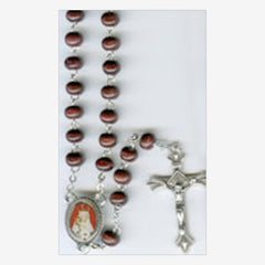 Wood Rosary 400th Anniversary OLOGS