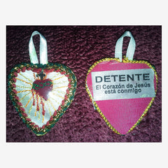 Sacred Heart Badge