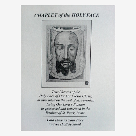 Chaplet of the Holy Face