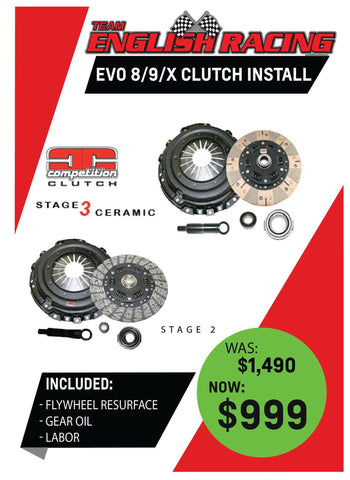 Comp clutch parts and service Spcial