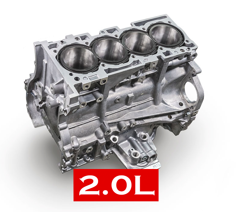 2.0L RACE - English Racing Evolution X Short Block