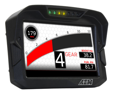 AEM CD-7 DIGITAL CAN DASH & CAN DASH LOGGER DISPLAY UNITS