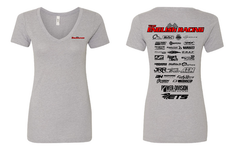 English Racing Womens Shirt in Grey