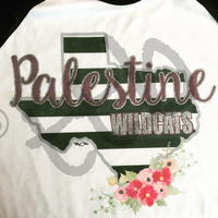 Kate Spade Inspired Baseball Spirit Tee