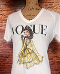 Women's V-Neck Princess Tee