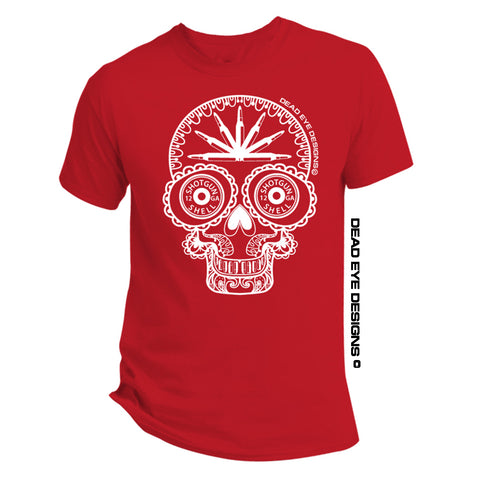DED Custom 3GUN Candy Skull Short Sleeve T-Shirt