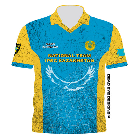 DED Technical Shirt for Eemann Tech: Kazakhstan Serbia IPSC
