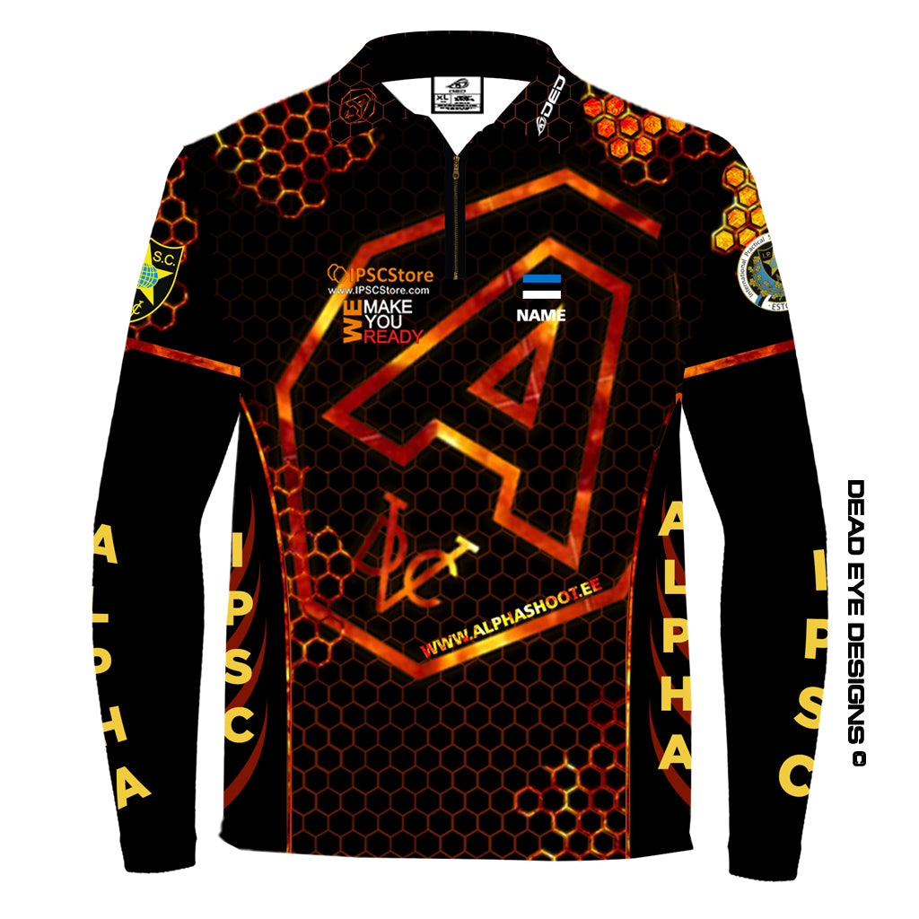 DED Technical Shirt for Eemann Tech: Alpha Shooting Club 2019 Official Long Sleeve