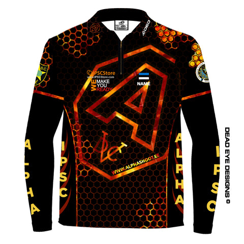 DED Technical Shirt for Eemann Tech: Alpha Shooting Club Official 2019