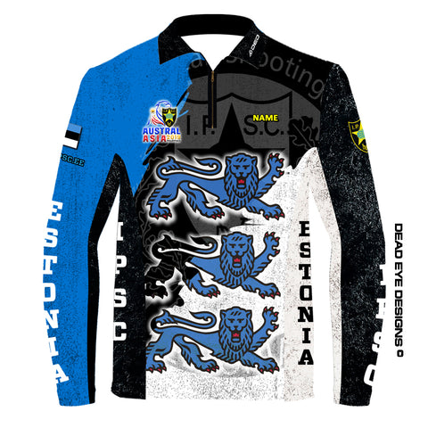 DED Technical Shirt for Eemann Tech: Estonia Austral Asia 2019