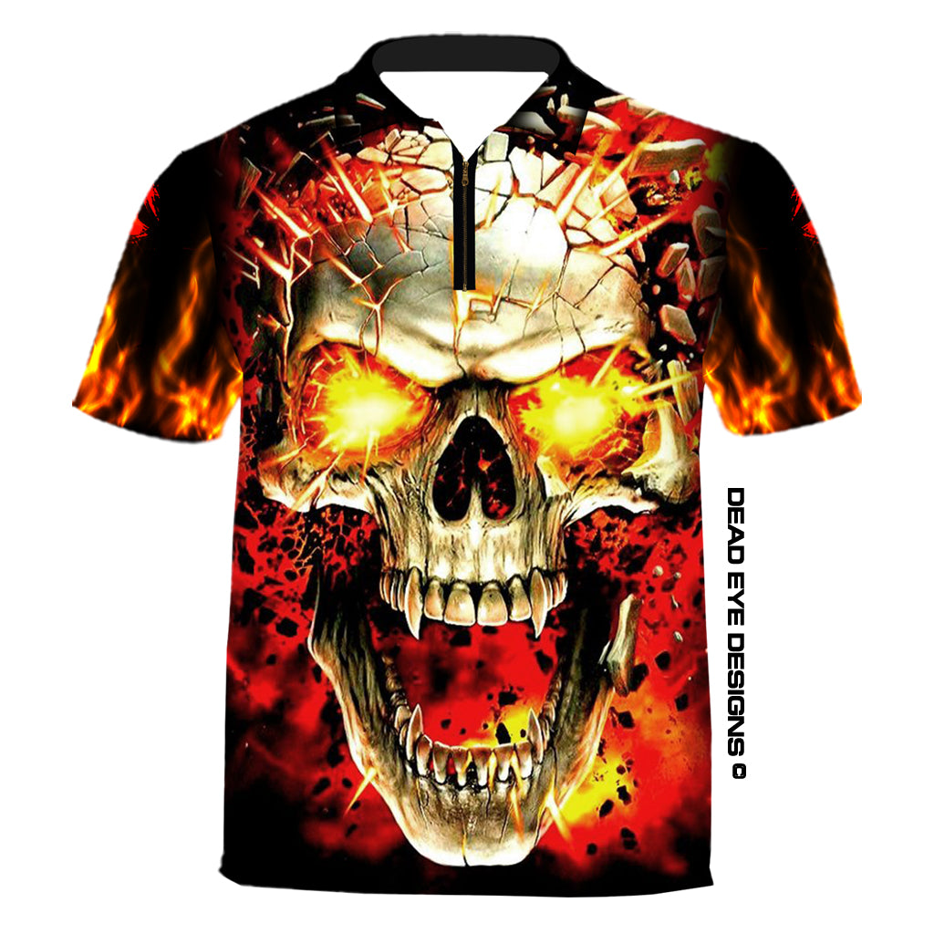 DED Technical Shirt for Eemann Tech: Skull T-Shirt