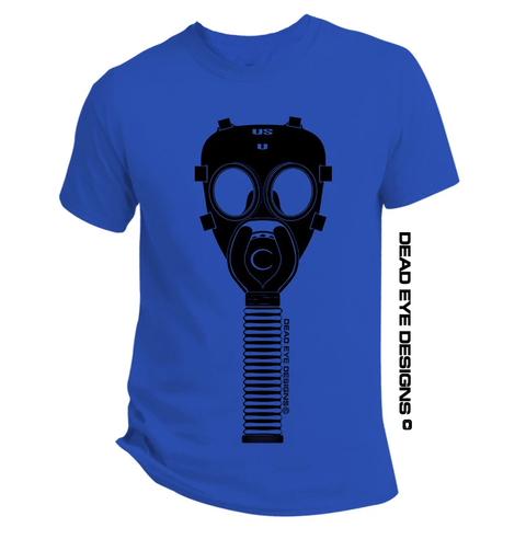 DED Custom Preppie Gas Mask V4 Short Sleeve T-Shirt