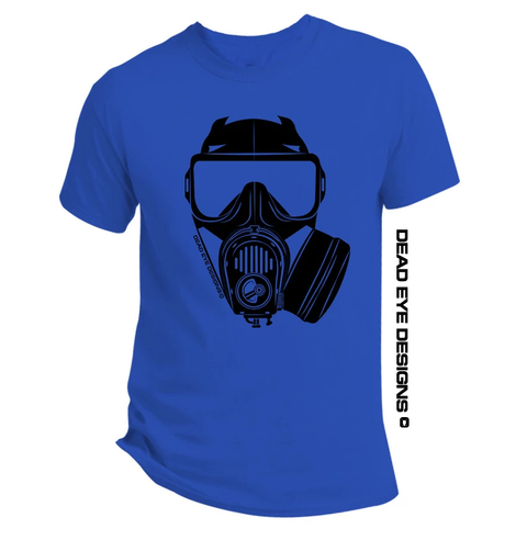 DED Custom Preppie Gas Mask V5 Short Sleeve T-Shirt