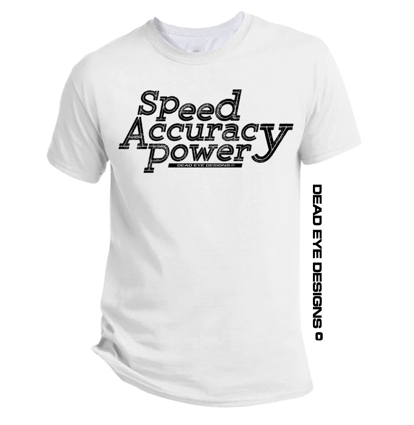DED Custom Speed Accuracy Power Short Sleeve T-Shirt