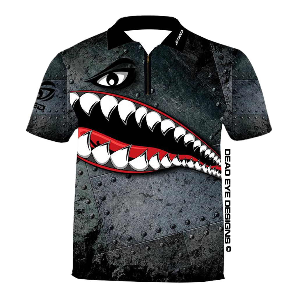 DED Technical Shirt Shot Show: Shark Plane